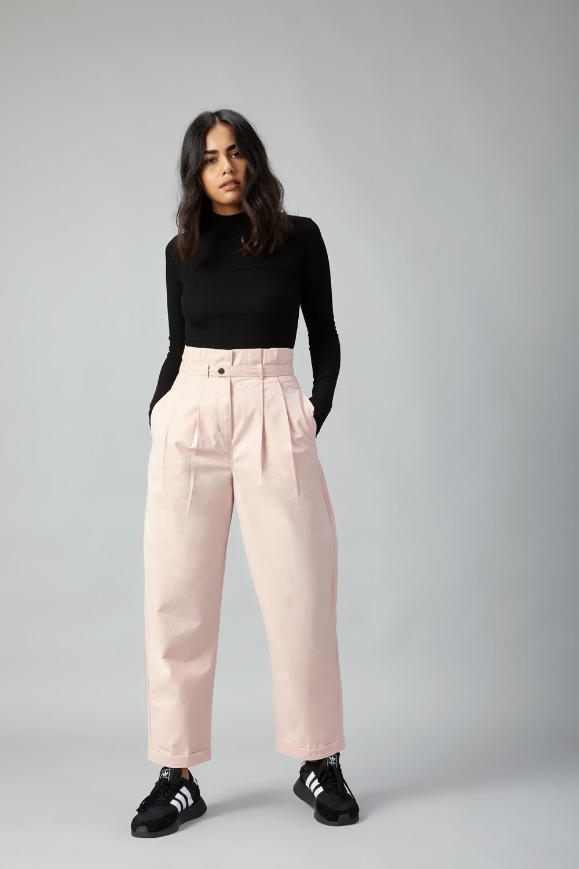28a657fd06b Paper Bag Trousers - Pink