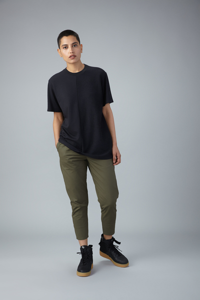 reverse weave terry tshirt