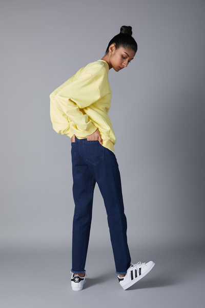 0118 slim cropped jeans