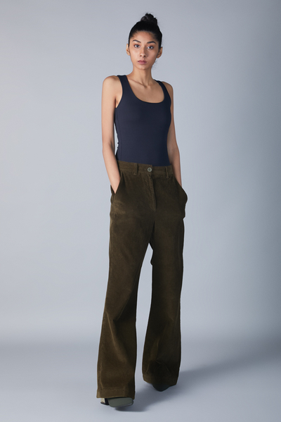 flare cord trouser