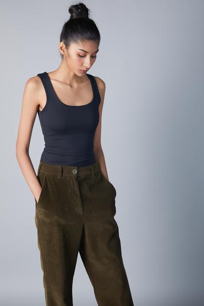 flare cord trouser