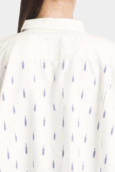 ikat short box shirt