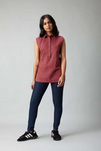 yoke sleeveless