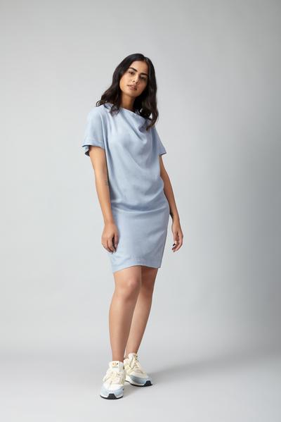 japan cowl dress