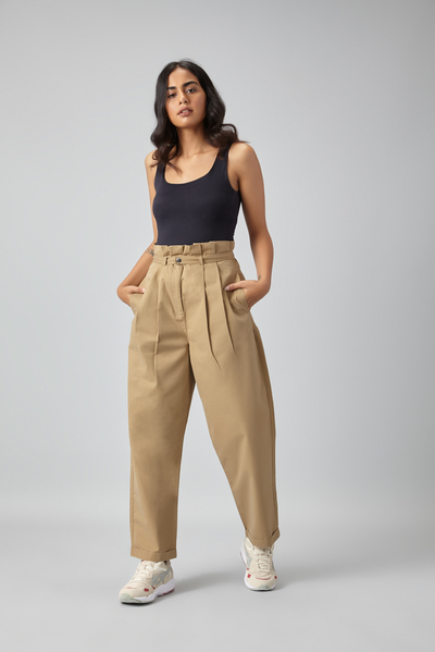 paper bag trousers