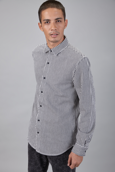 mono stripe shirt