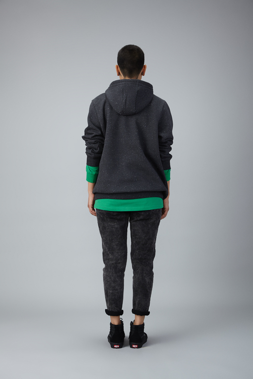 double string hoodie