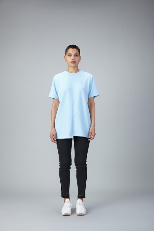 reverse weave terry tshirt