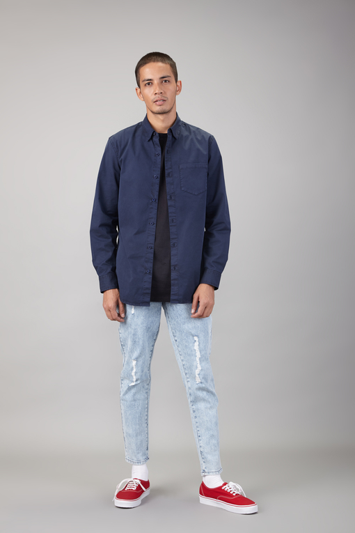 regular button down shirt