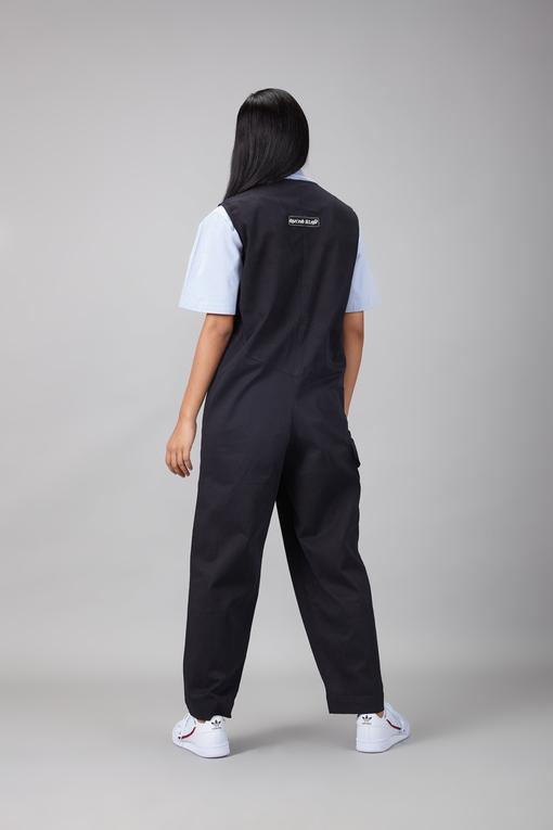 baggy boiler suit
