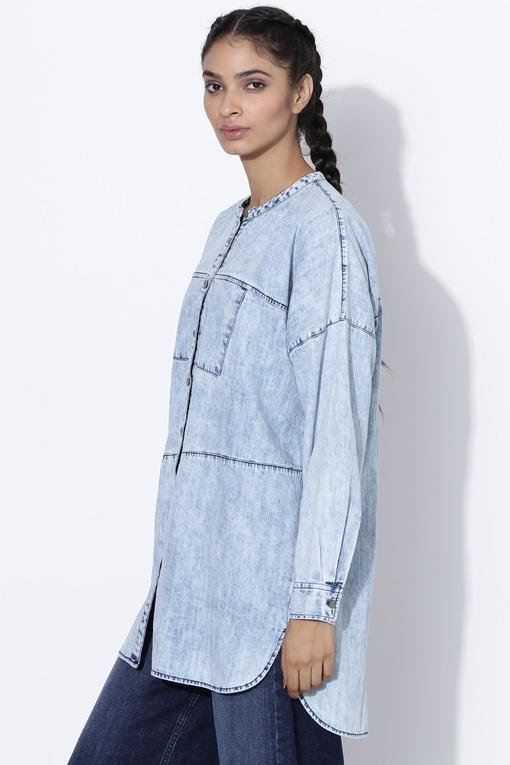 cut & sew shirt