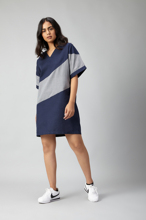 japan cut and sew dress