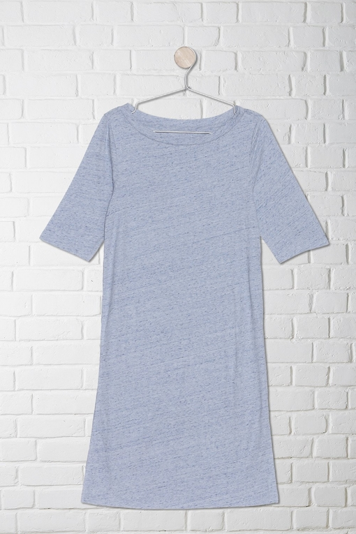 boat neck long top