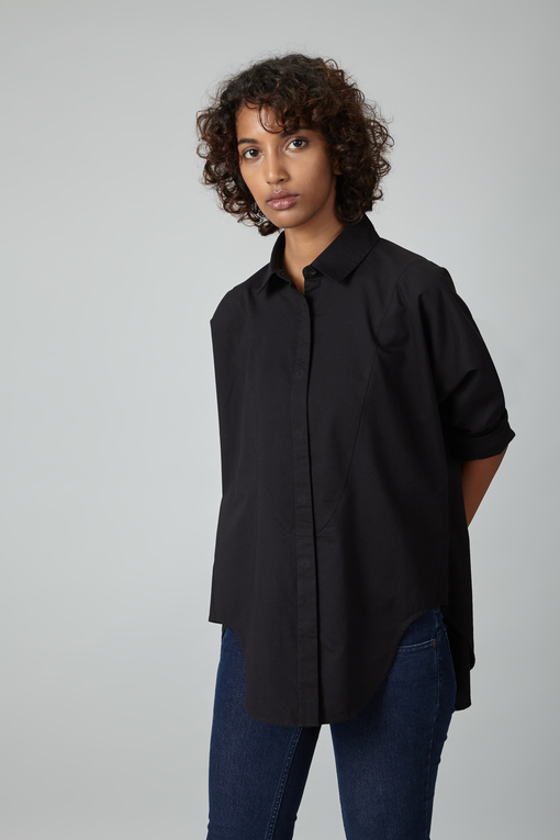 twisted seam top
