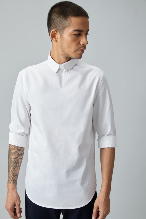 blank front shirt