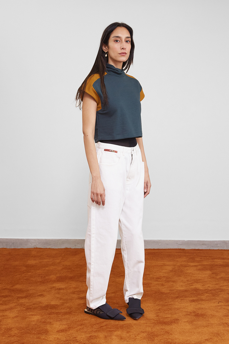 panelled top