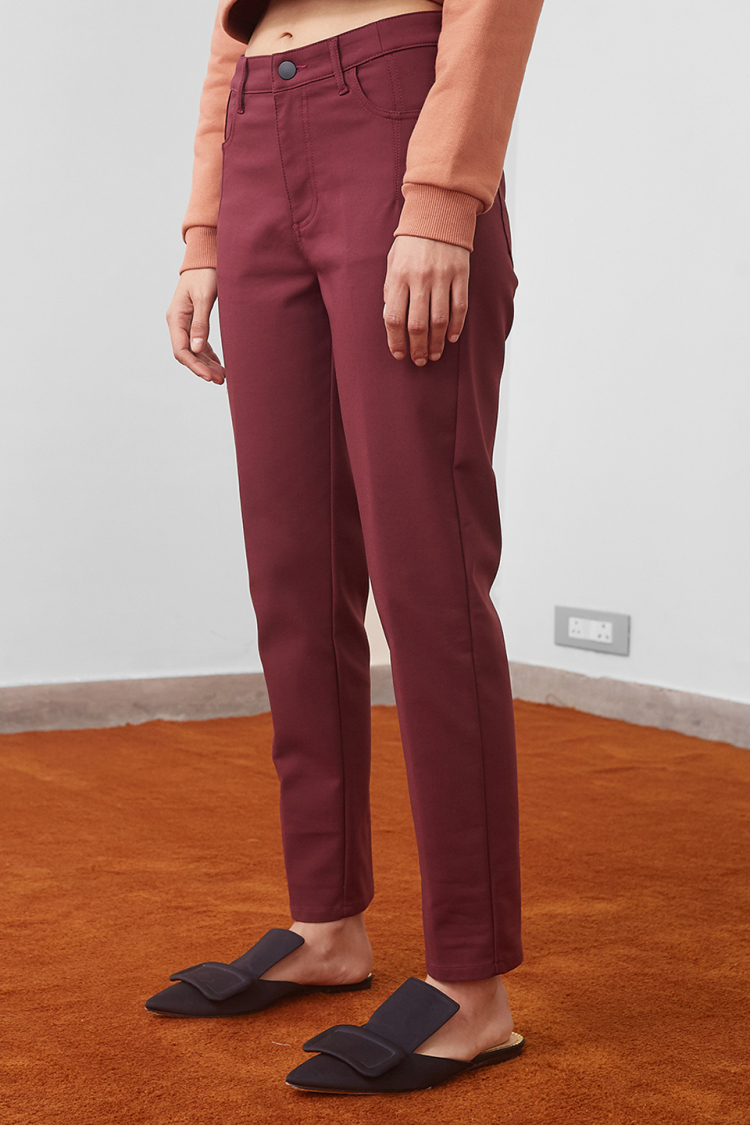 everyday slim trousers