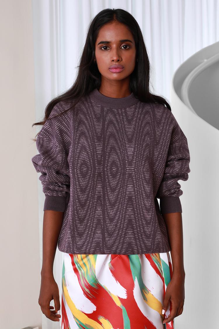 optic sweater