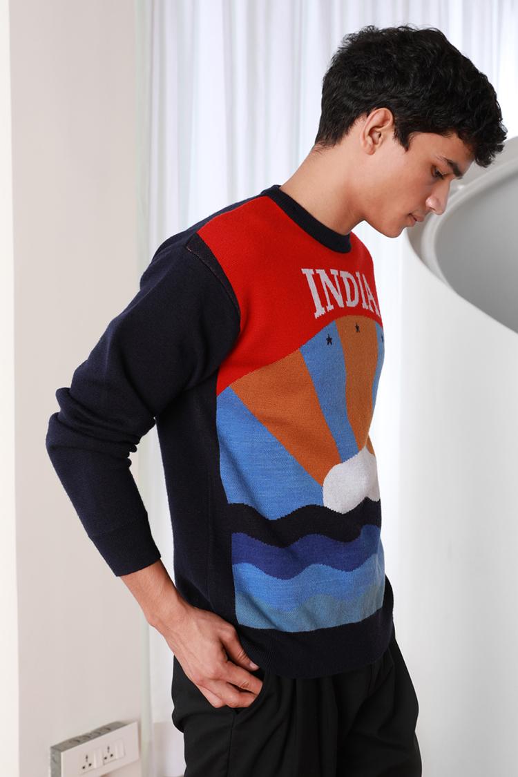 sunrise sweater