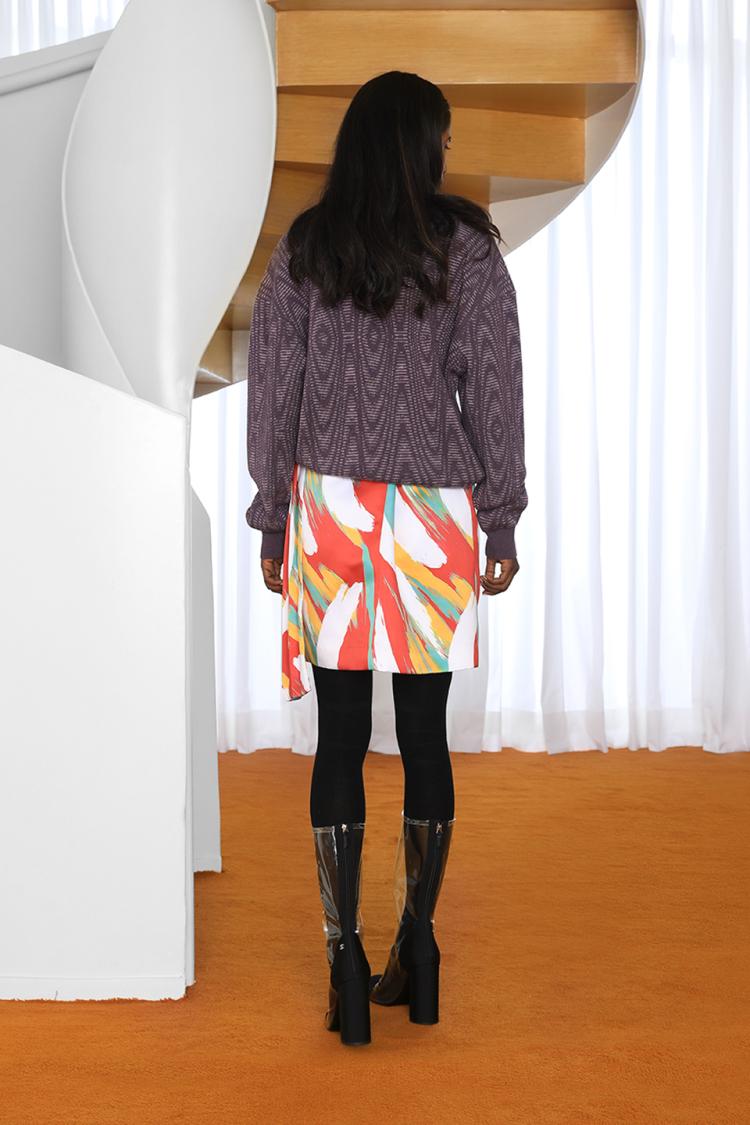 sauce-sash skirt