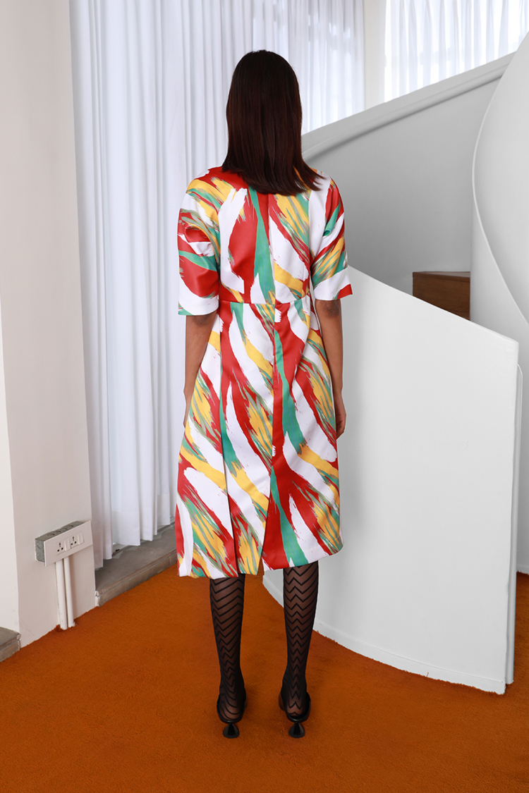 sauce-sash dress