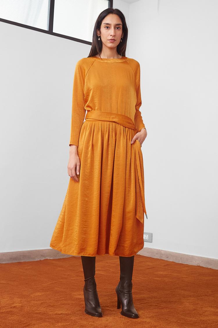 leisure wrap dress