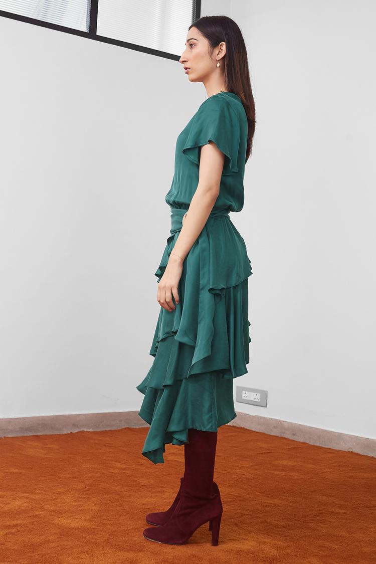 tiered cake dress