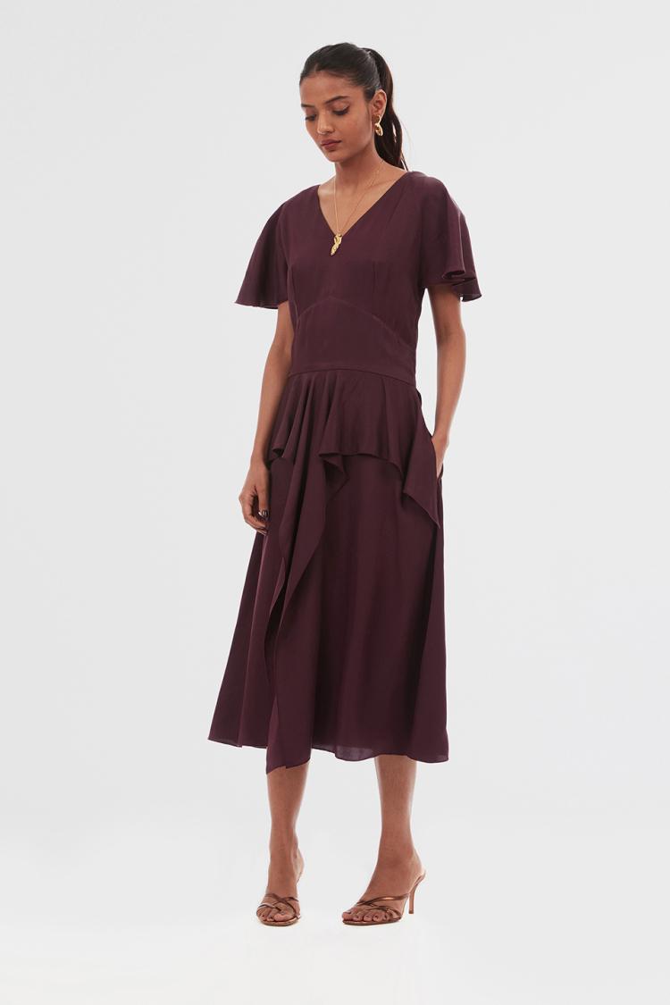 mykonos maxi dress